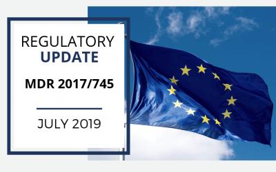Regulatory Update #190701- MDR 2017/745